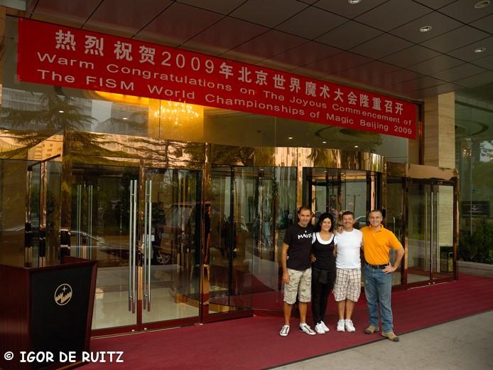 I. Ma.Gi.A. arrivano a Beijing