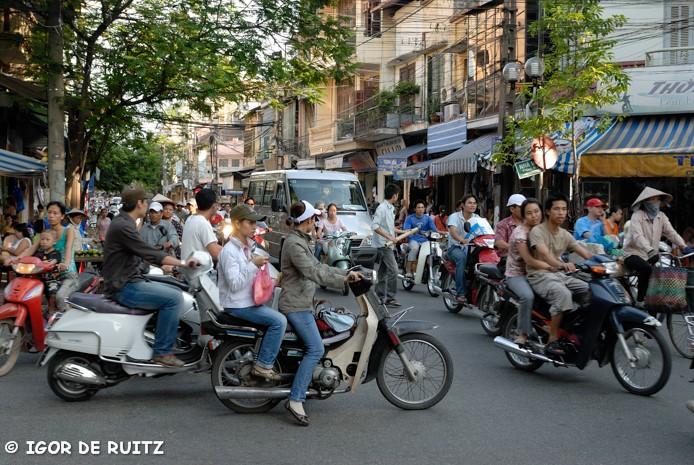 Il traffico di Hanoi